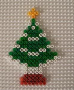 Make a Hama Bead Christmas Tree