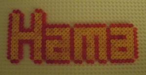 Hama Bead Logo