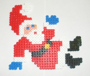 Santa Claus Hama Bead Designs