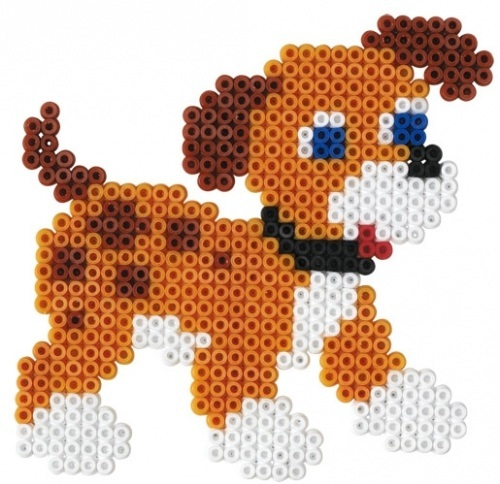 Perler Beads Dog | Car Interior Design