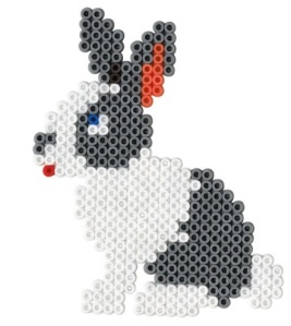 rabbit - cute pets large gift box