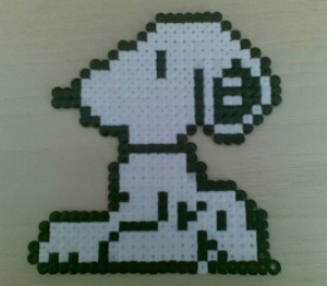 Make Snoopy out of Hama