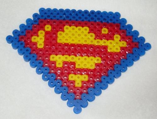Superhero Patterns Hama Bead Patterns
