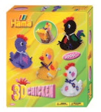 3222 - 3D Chicken Box Set