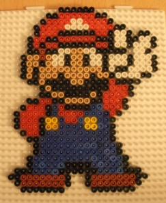 Cool New Looking Mario in Hama