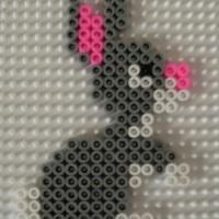 Grey Bunny Rabbit