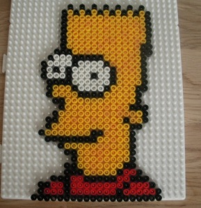 Bart Simpson Hama Bead
