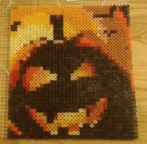 Halloween Hama Bead Pattern